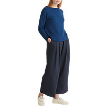 Buy Toast Mouline Wool Cotton Jumper, Dazzling Blue Mouline Online at johnlewis.com