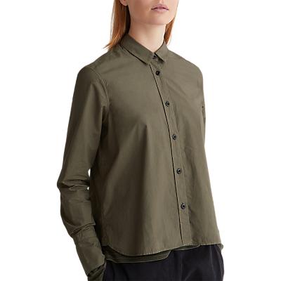 Toast Poplin Shirt, Khaki