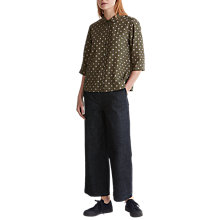 Buy Toast Foulard PJ Shirt, Moss Green Online at johnlewis.com