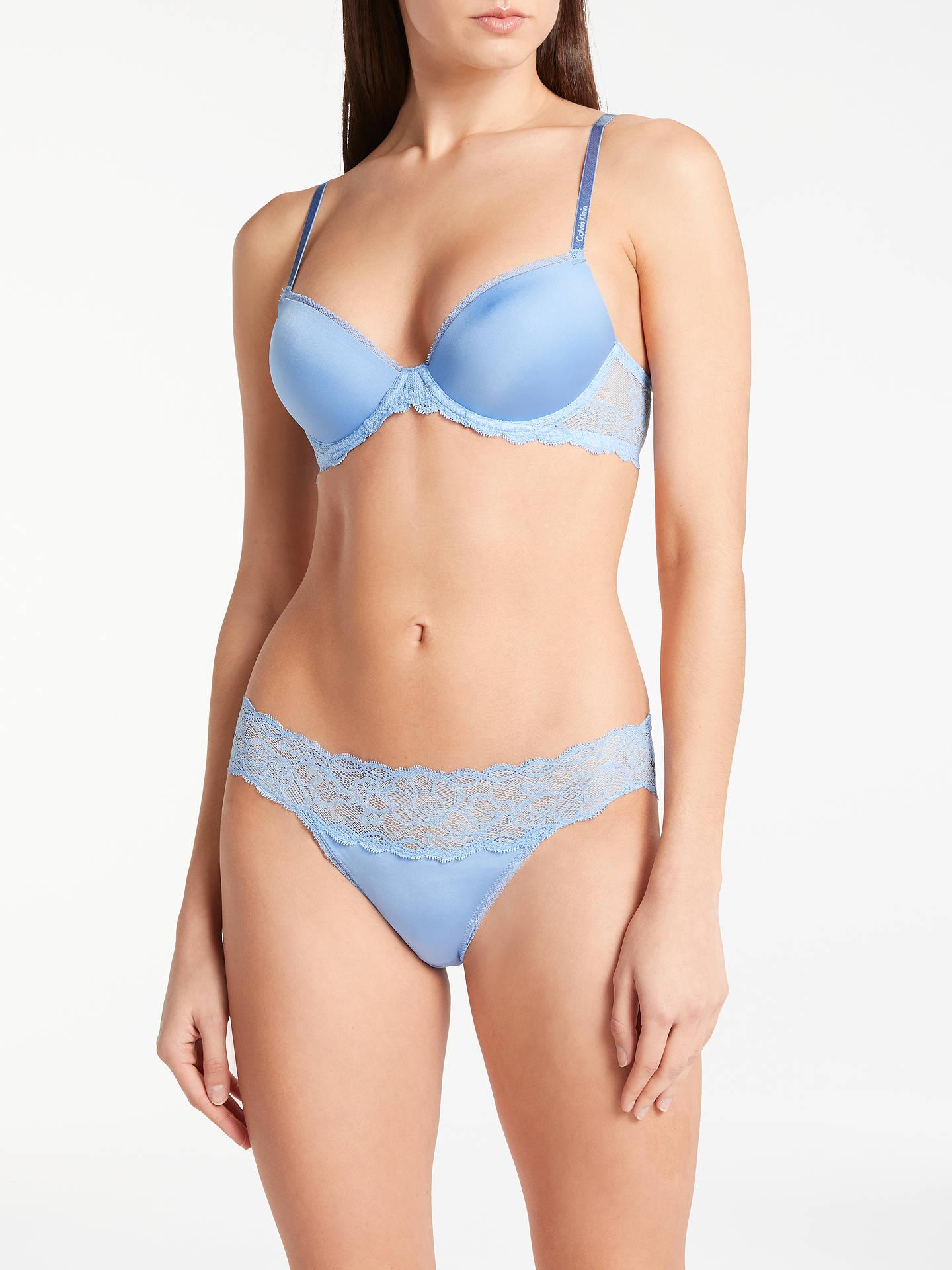 da1e538c65 Calvin Klein Underwear Seductive Comfort Demi Lift Bra at John Lewis ...