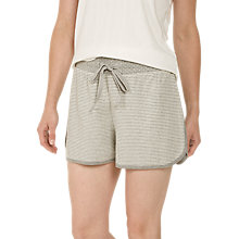 Buy Face Face Snow Dot Pyjama Shorts, Grey Marl Online at johnlewis.com
