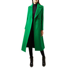 Buy Hobbs Kali Coat, Apple Green Online at johnlewis.com