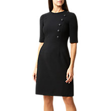 Buy Hobbs Martina Dress, Black Online at johnlewis.com
