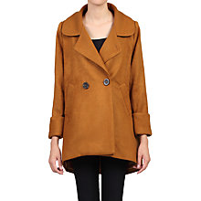 Buy Jolie Moi Dip Hem Cocoon Coat Online at johnlewis.com