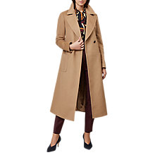 Buy Hobbs Kali Coat, Camel Online at johnlewis.com