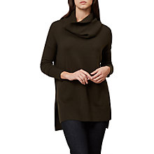 Buy Hobbs Elise Jumper, Khaki Online at johnlewis.com