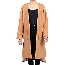 Buy Jolie Moi Faux Fur Pocket Padded Inner Coat Online at johnlewis.com
