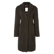 Buy White Stuff Witham Teddy Coat, Grey Online at johnlewis.com