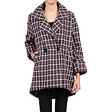 Buy Jolie Moi Houndstooth Cocoon Coat Online at johnlewis.com