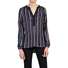 Buy Jolie Moi V-Neck Striped Blouse Online at johnlewis.com