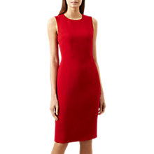 Buy Hobbs Elena Dress, Red Online at johnlewis.com