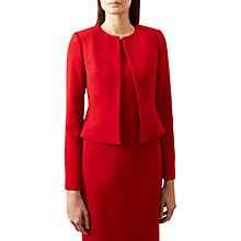 Buy Hobbs Elena Jacket, Red Online at johnlewis.com