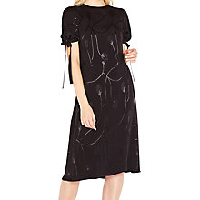 Buy Ghost Aubrey Dress, Black Online at johnlewis.com