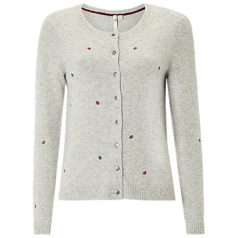 Buy White Stuff Art Spot Cardigan | John Lewis