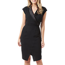 Buy Sugarhill Boutique Amity Tuxedo Dress, Black Online at johnlewis.com