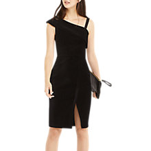 Buy Oasis One Shoulder Velvet Dress, Black Online at johnlewis.com