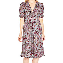 Buy Ghost Sabrina Dress, Lavender Floral Online at johnlewis.com