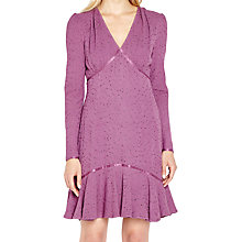 Buy Ghost Madelyn Dress, Mulberry Online at johnlewis.com