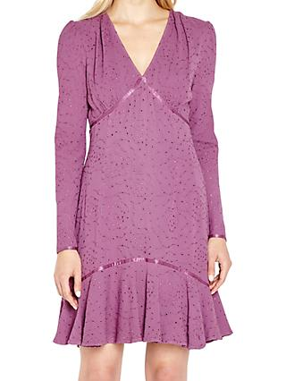 Ghost Madelyn Dress, Mulberry