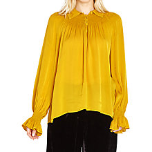 Buy Ghost Emily Blouse, Mustard Online at johnlewis.com