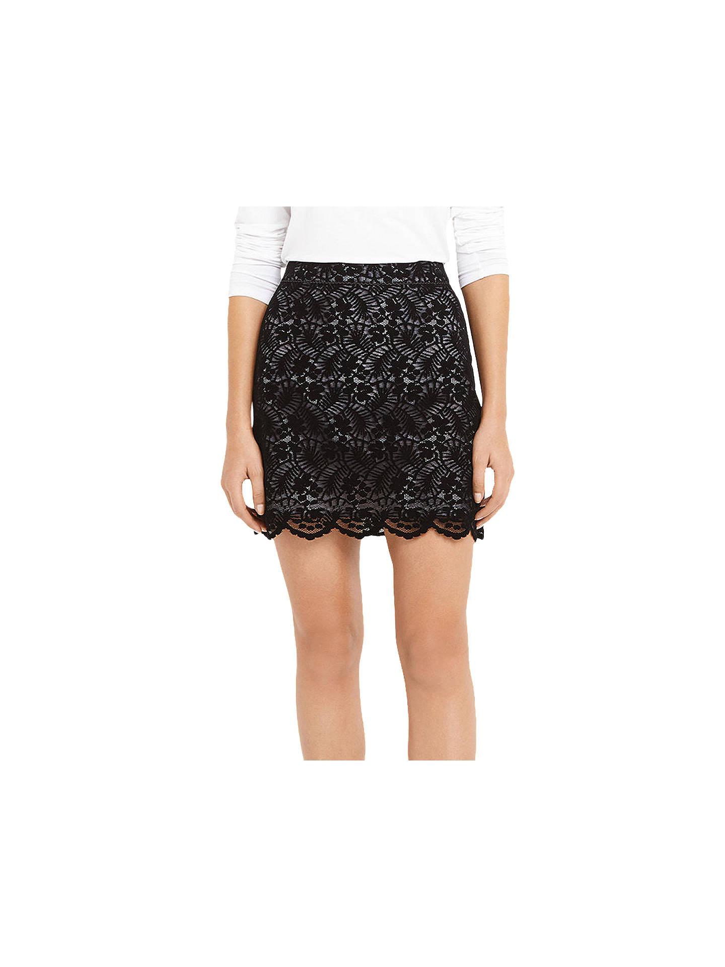 d0edb80993a Buy Oasis Robin Flocked Lace Mini Skirt
