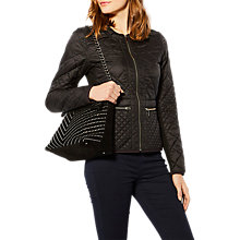 Buy Karen Millen Quilted Jacket Online at johnlewis.com