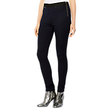 Buy Karen Millen Stretch Denim Leggings, Dark Denim Online at johnlewis.com