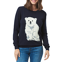 Buy Sugarhill Boutique Rita Polar Bear Cub Jumper, Navy Online at johnlewis.com