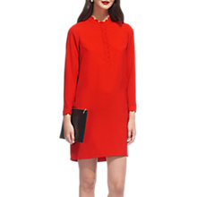Buy Whistles Scalloped Collar Crepe Dress Online at johnlewis.com
