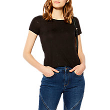 Buy Karen Millen Hot Fix Artwork T-Shirt Online at johnlewis.com