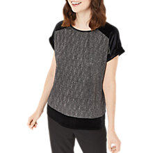 Buy Oasis Crinkle Foil Top Online at johnlewis.com