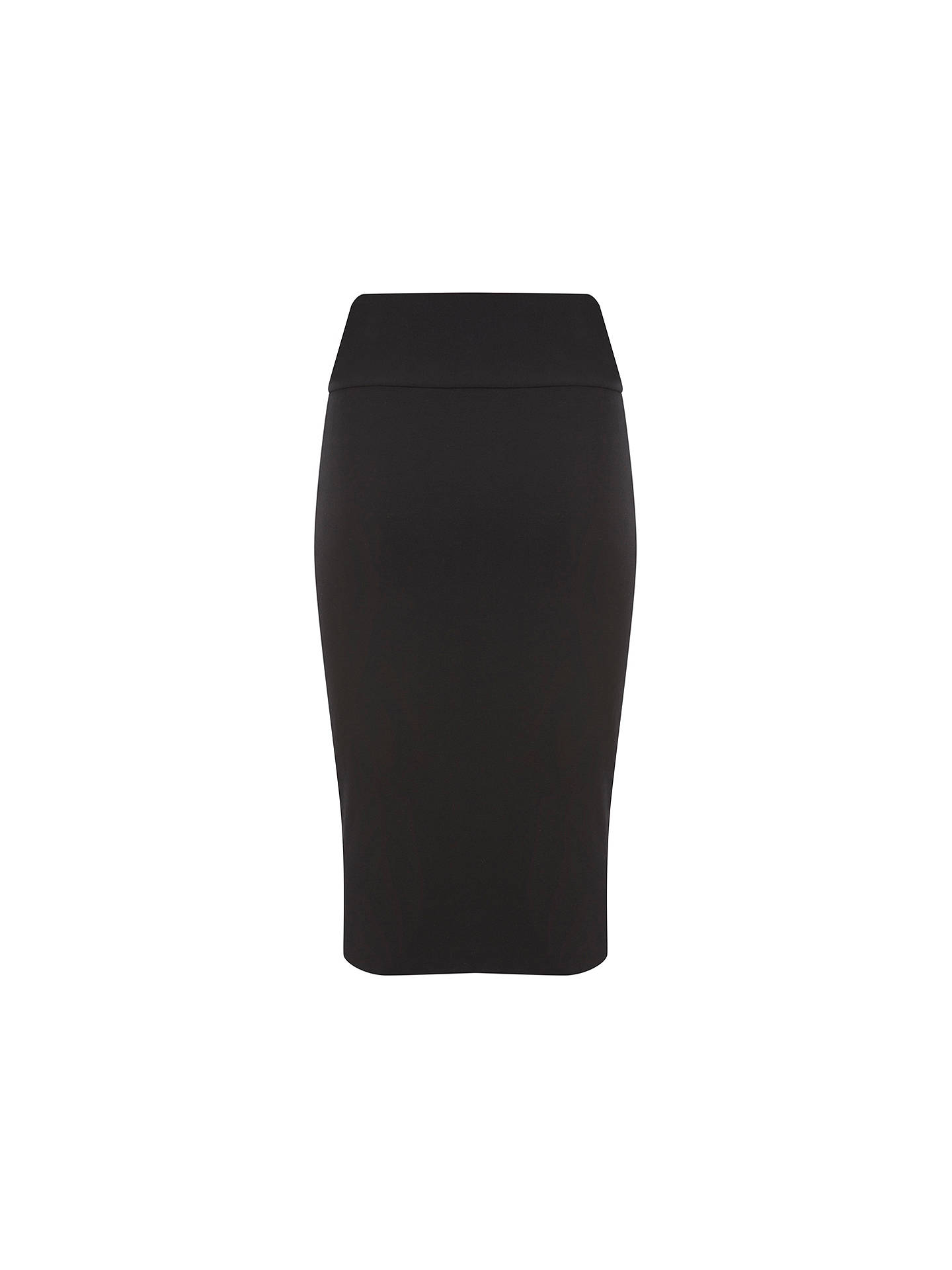 30192e7fd9 ... Buy Mint Velvet Jersey Midi Tube Skirt, Black, 6 Online at  johnlewis.com ...