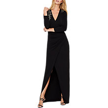 Buy Damsel in a dress Samia Slinky Jersey Maxi Dress, Black Online at johnlewis.com