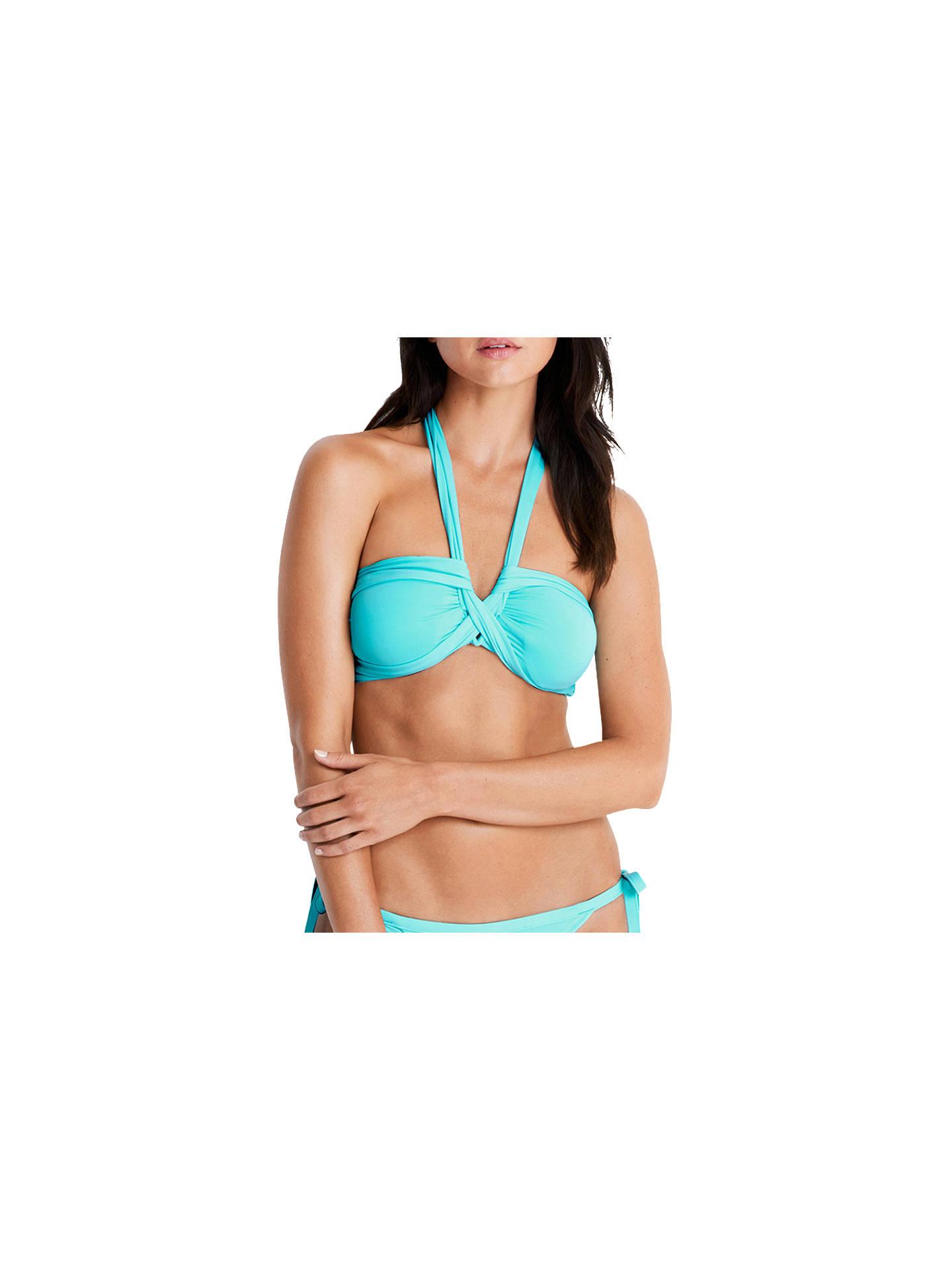 5dc5da3fae Buy Seafolly Bandeau Bikini Top, Iceberg, 8 Online at johnlewis.com ...