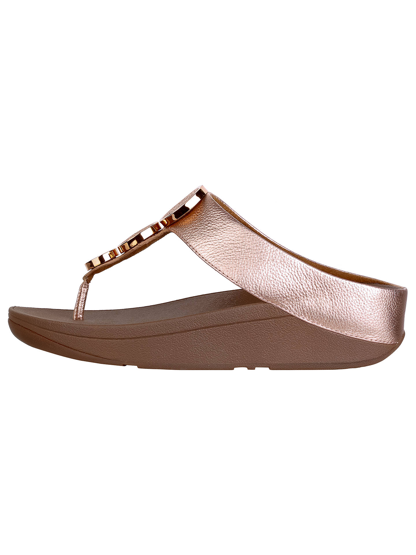26d15e01476 FitFlop Halo Toe Post Sandals at John Lewis   Partners