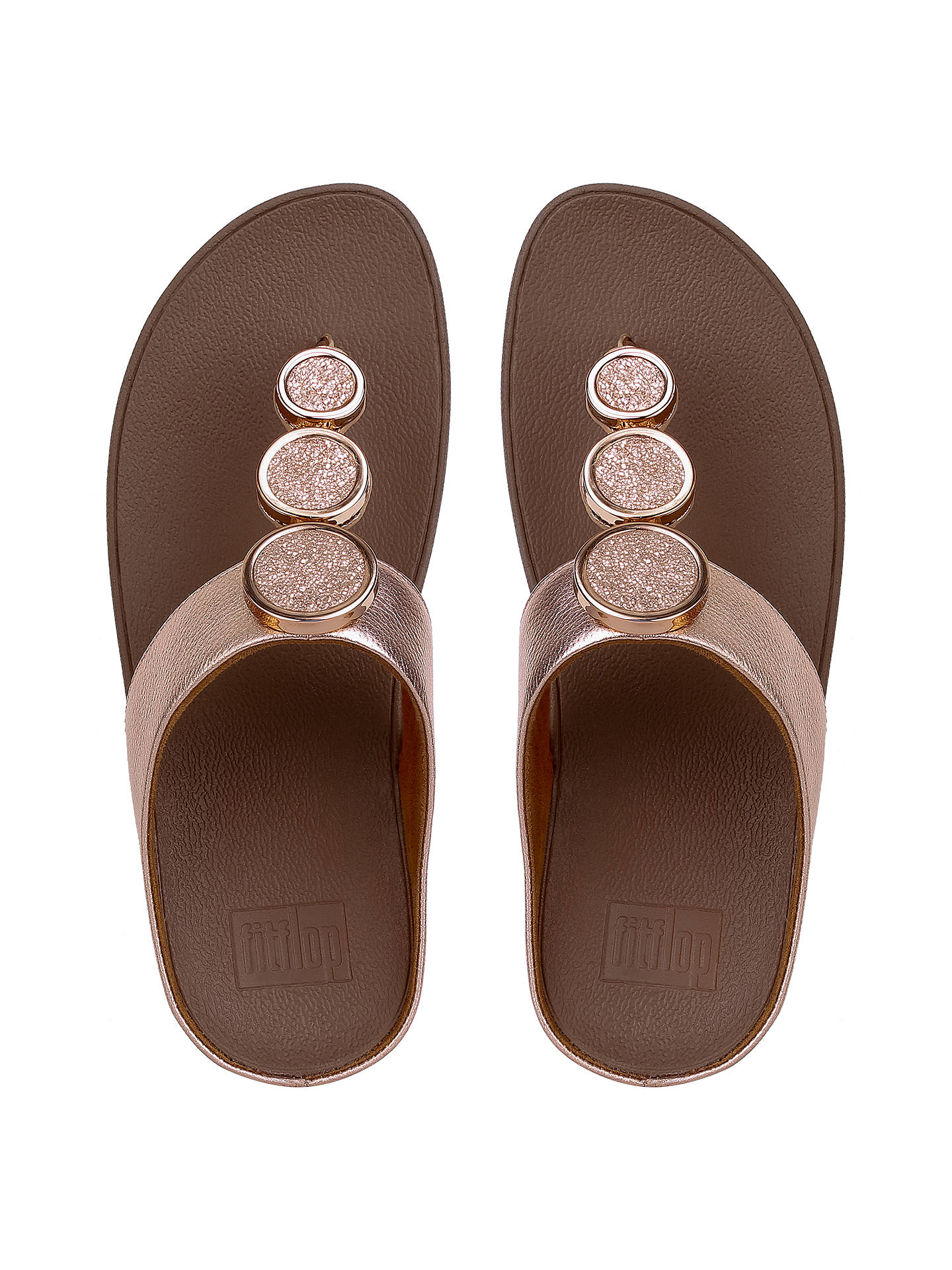 10c4b04e7 FitFlop Halo Toe Post Sandals at John Lewis   Partners
