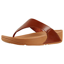 Buy FitFlop Lulu Toe Post Flip Flops Online at johnlewis.com
