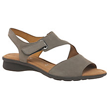 Buy Gabor Mostic Wide Fit Sandals, Beige Online at johnlewis.com