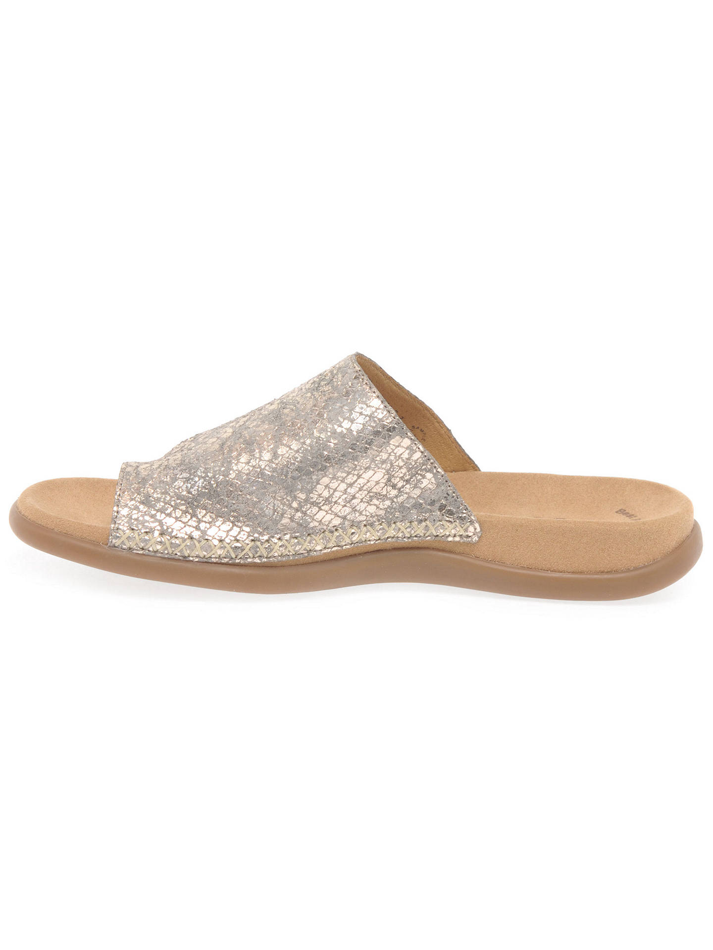 meet 67f33 9579d Gabor Lanzarote Slip On Sandals at John Lewis & Partners