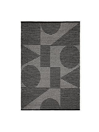 PATTERNITY + John Lewis Ritual Repeat Rug, Black