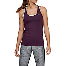 Buy Under Armour HeatGear Racerback Training Tank Online at johnlewis.com