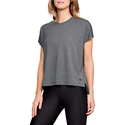 Under Armour Essentials Training T-Shirt, Charcoal