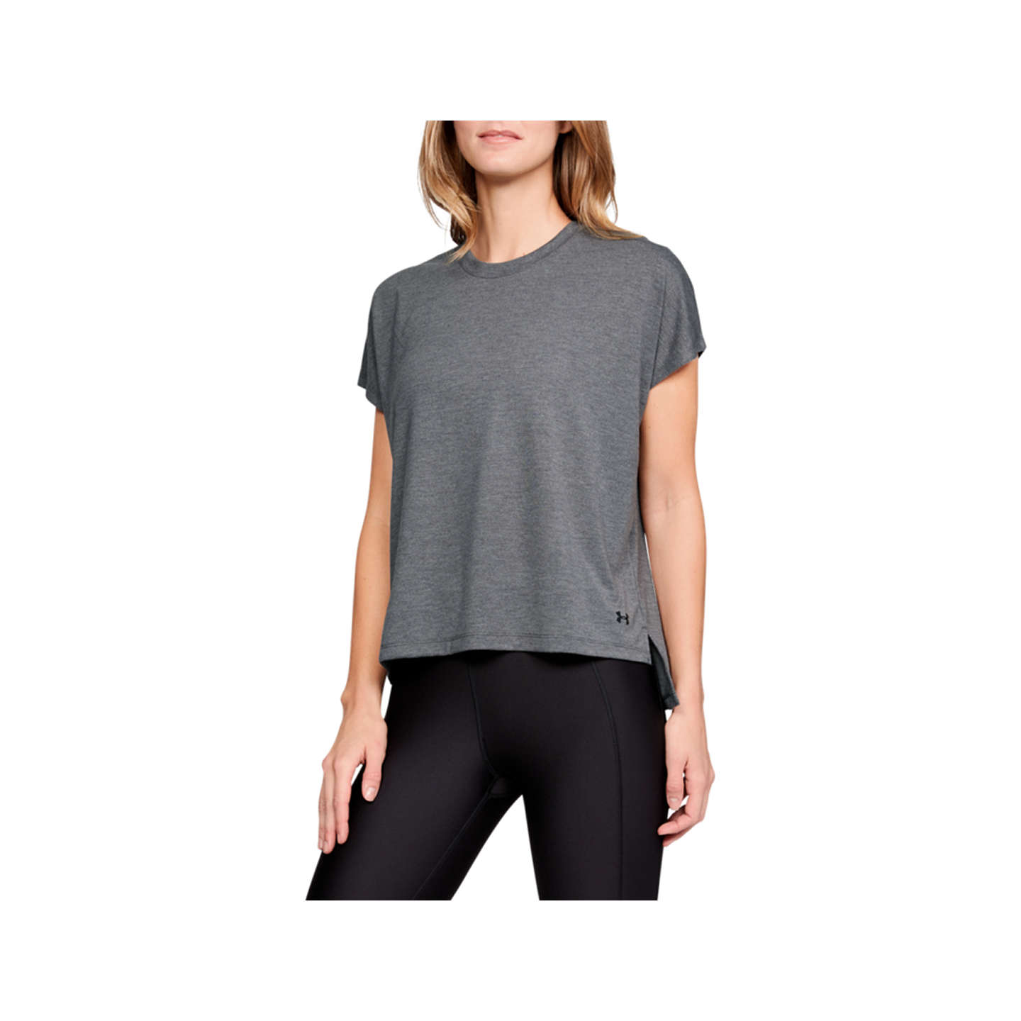 Under Armour Essentials Training T Shirt, Charcoal by Under Armour