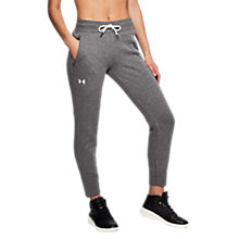 Buy Under Armour Better Level Europe Tapered Slouch Trouser, Charcoal Online at johnlewis.com