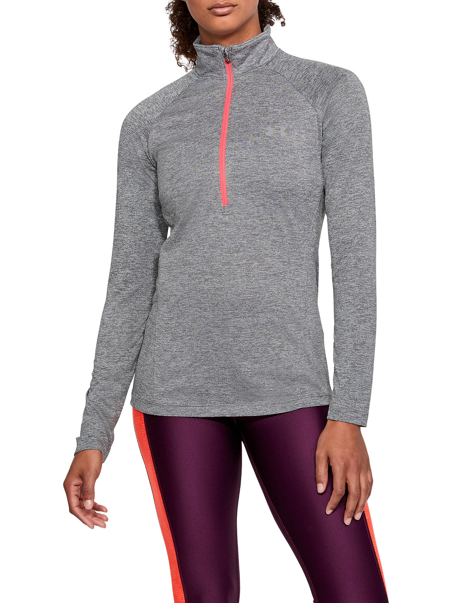 3cd18933 Buy Under Armour Tech Twist 1/2 Zip Long Sleeve Training Top, Graphite/ ...