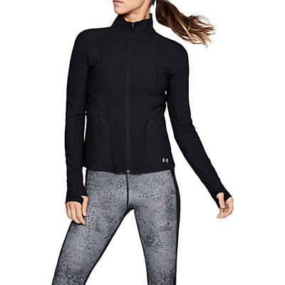 Under Armour Balance Disruptive Full Zip Training Top, Black