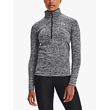 Buy Under Armour Tech 1/2 Zip Twist Long Sleeve Training Top Online at johnlewis.com