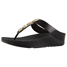 Buy FitFlop Roka Embellished Toe Post Sandals Online at johnlewis.com