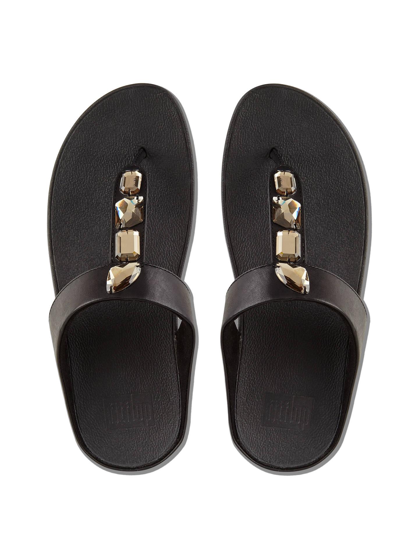 c1e598629 FitFlop Roka Embellished Toe Post Sandals at John Lewis   Partners