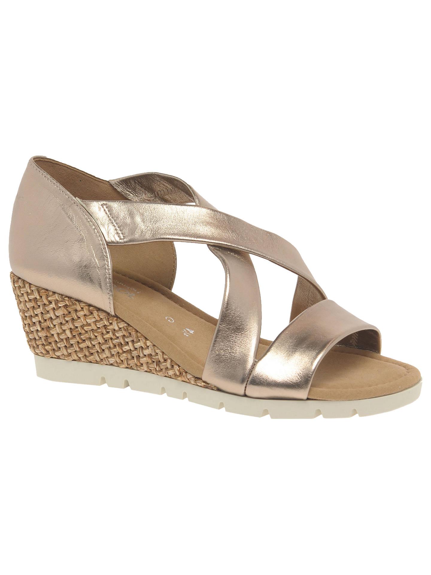 d3d9ac9173d Buy Gabor Lisette Wide Fit Cross Strap Sandals